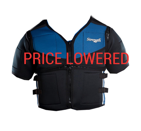 Strength Weighted Vest - Blue