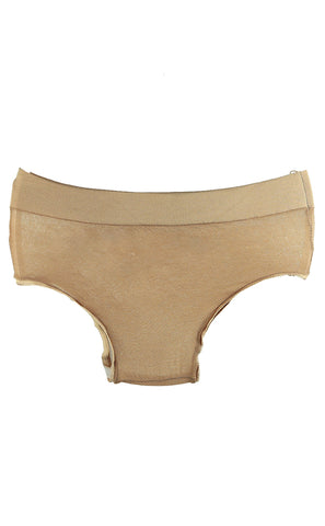Women Men Nylon See Through Briefs Thong