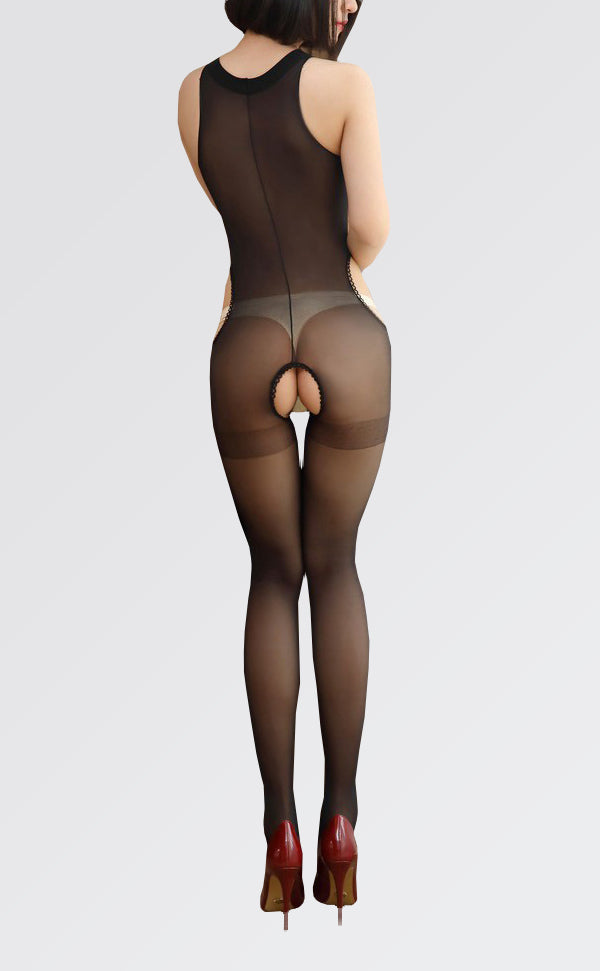 15D Crotchless Sleeveless Bodystockings