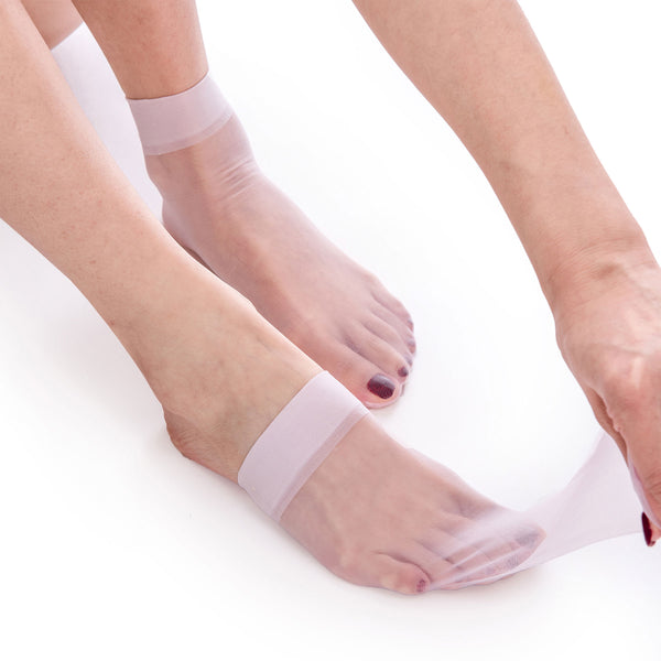 Ultra Thin Sheer Ankle Pop Short Socks – 5 Pairs