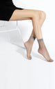 Unisex Sheer Ankle Pop Short Socks – 5 Pairs