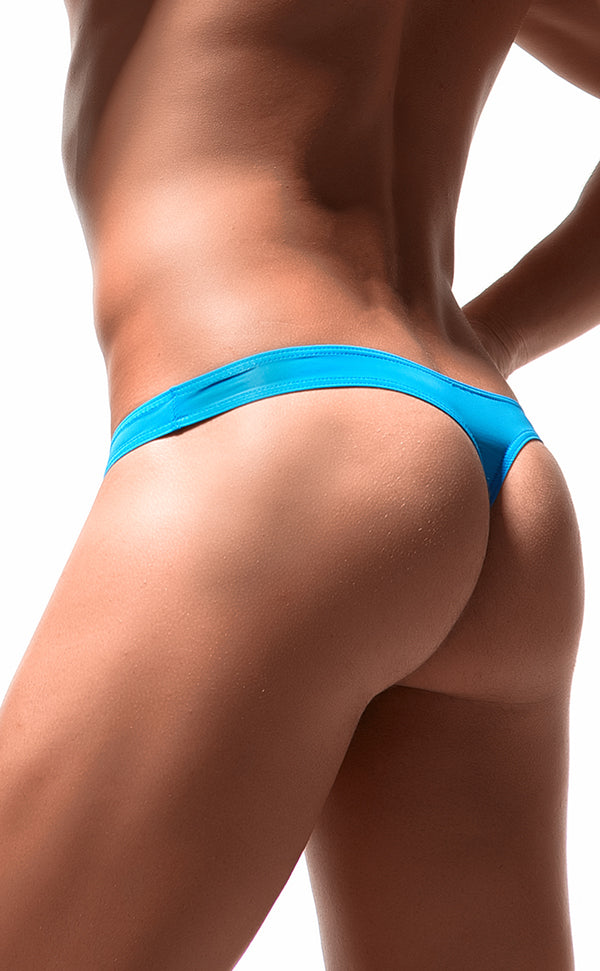 Ultra-thin Bicolor Thongs for Men