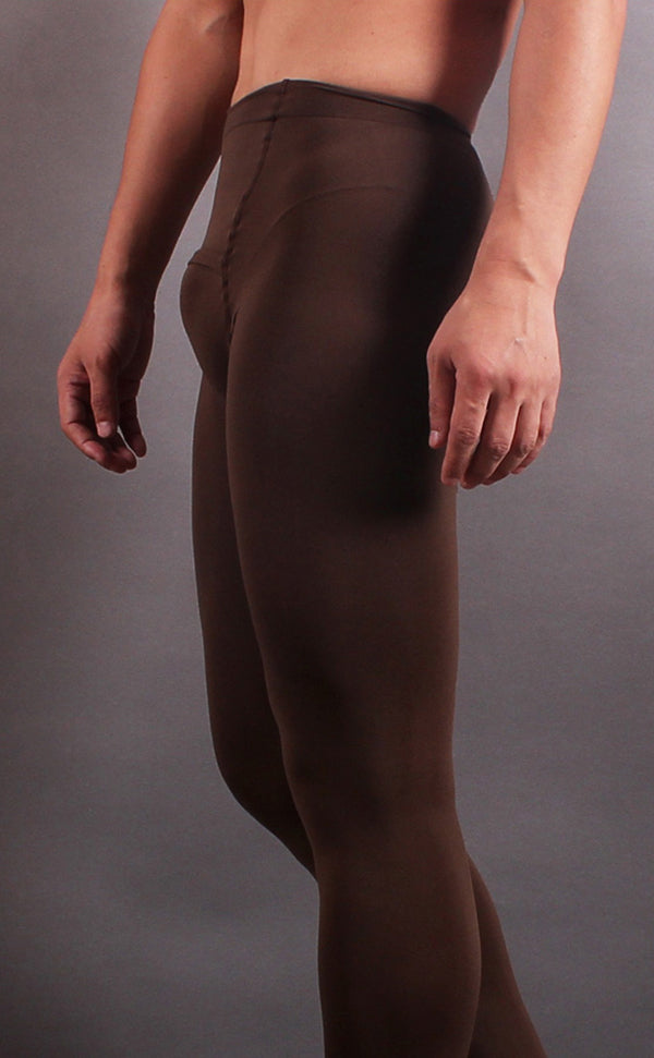 Men's Winter Pantyhose Footless Tights