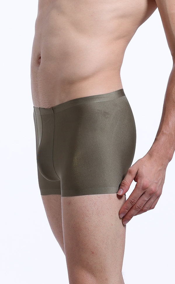 Men's Glossy Soft Sexy Trunk