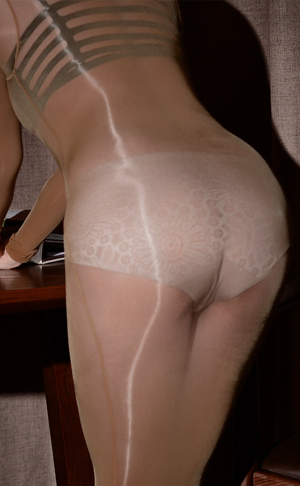 Unisex Ultra Glossy Nude Body Stockings