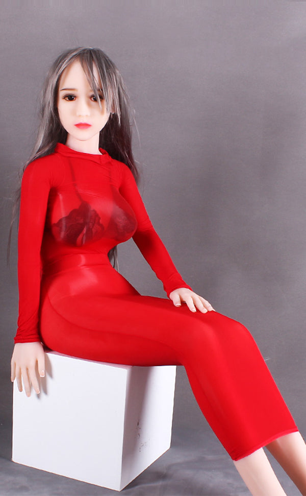Unisex Glossy Long Sleeve Cover Up Bodysuit