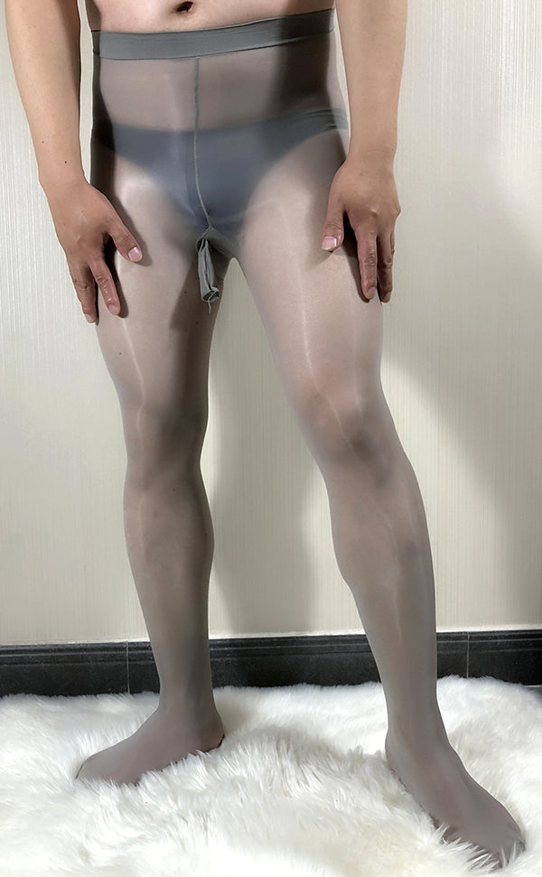 Men's Glossy STW Tights Sheath Open