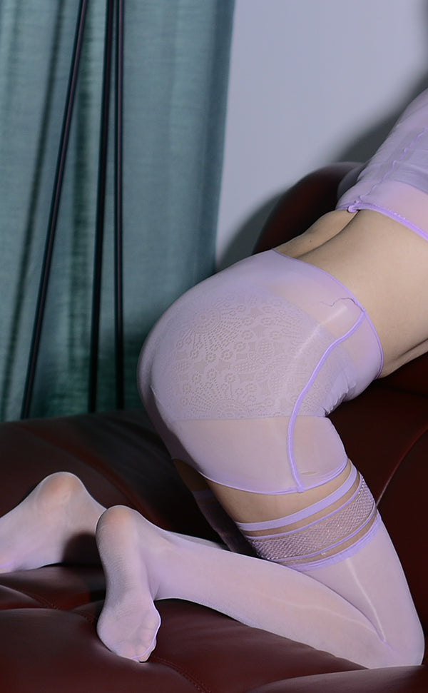 Sexy 3 Piece Nude Body Stockings