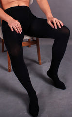 Men's Velvety 200D Pantyhose