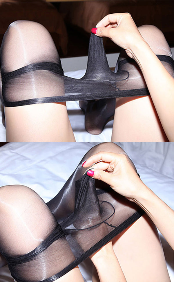 High-Glossy Unisex Bodystockings with Sheath