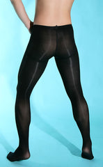 Men's Velvety 80D Pantyhose