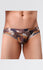 Men's Fashion Pattern Mesh Briefs