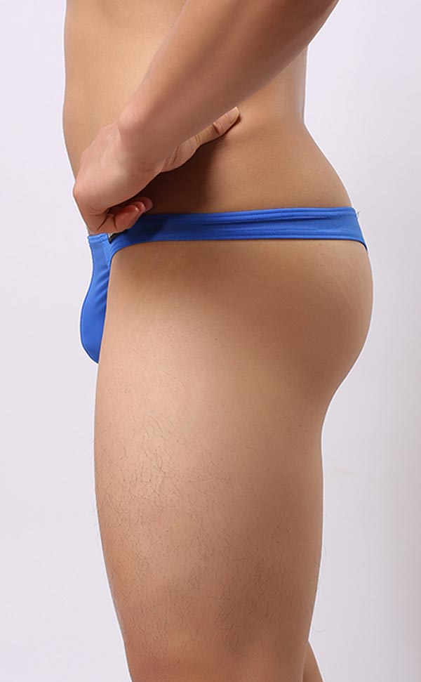 Men's Ultra-Thin Soft Pouch Thongs