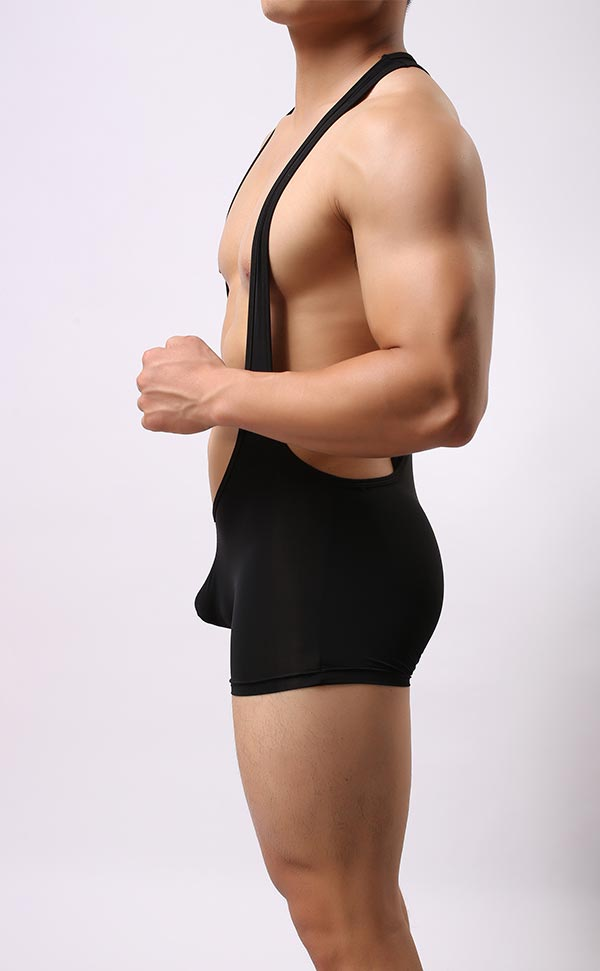 Men's Ultra Soft Boxer Bodysuit
