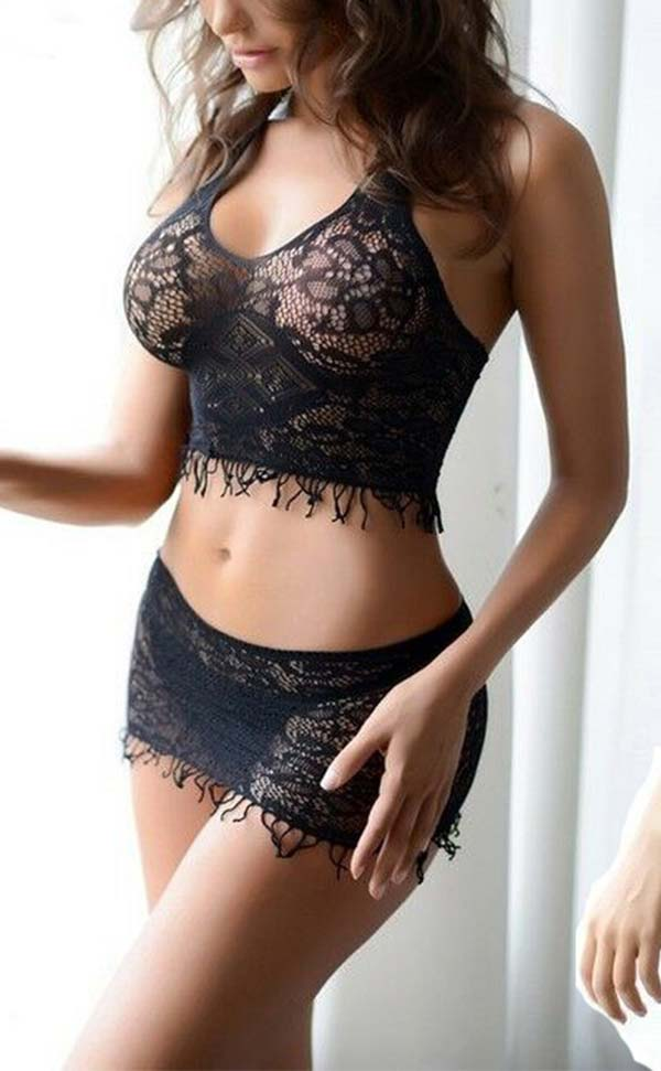 Cutesy Lace Bra Set