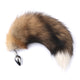 16'' Brown Fox Tail Butt Plug- Large