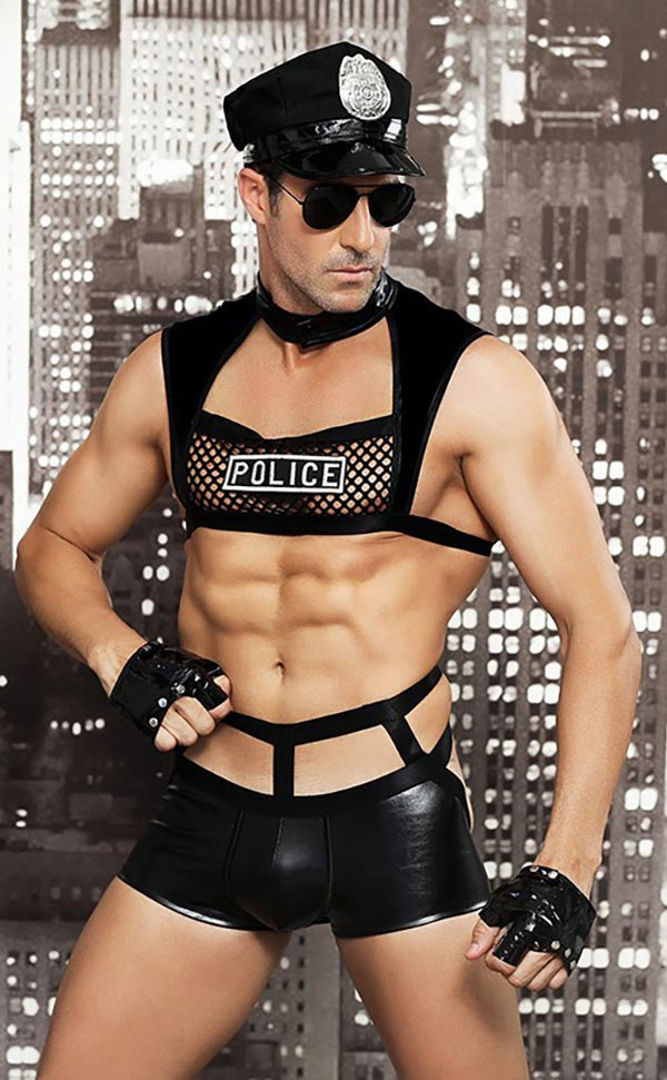 Naughty Officer Men's Costumes