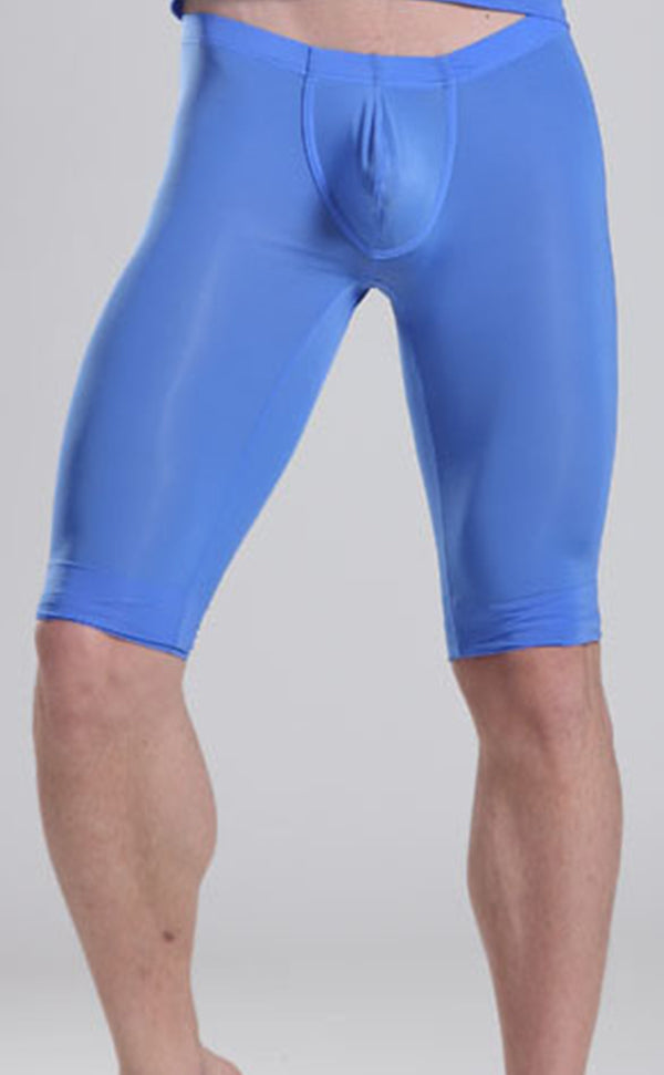 Men's Sheer See Through Training Yoga shorts