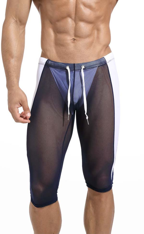 3/4 Compression Pants under Shorts