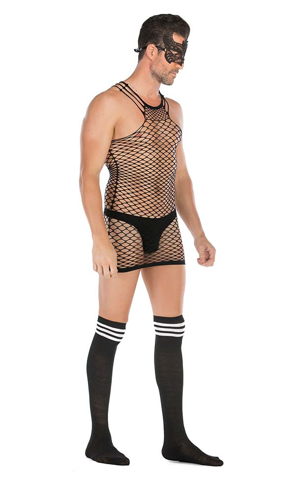 Men's Diamond Net Dress Sets