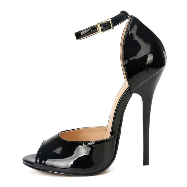 Peep Toe Ankle Straps High Heel Sandals