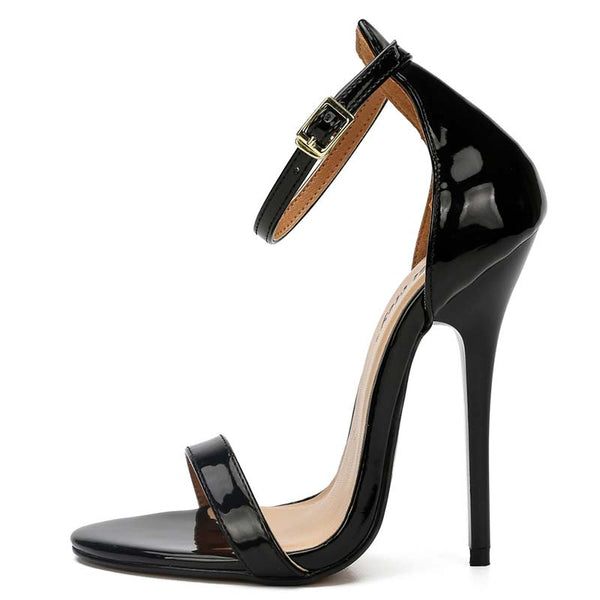 Open Toe Back Ankle Strap Sandals
