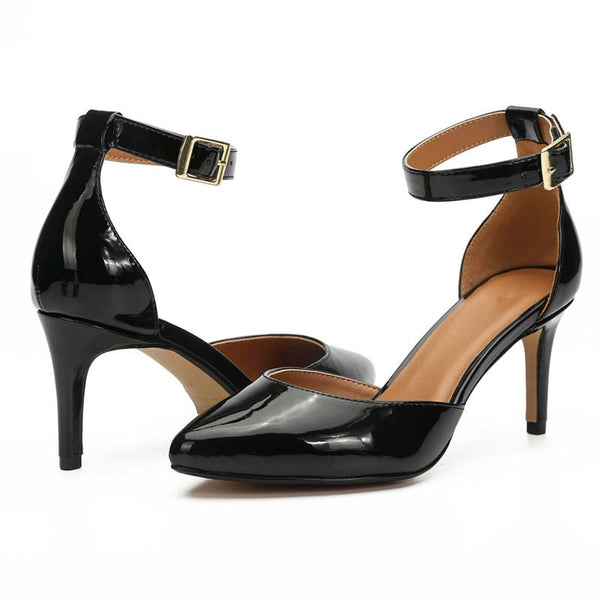 Wide Fit Court Heels