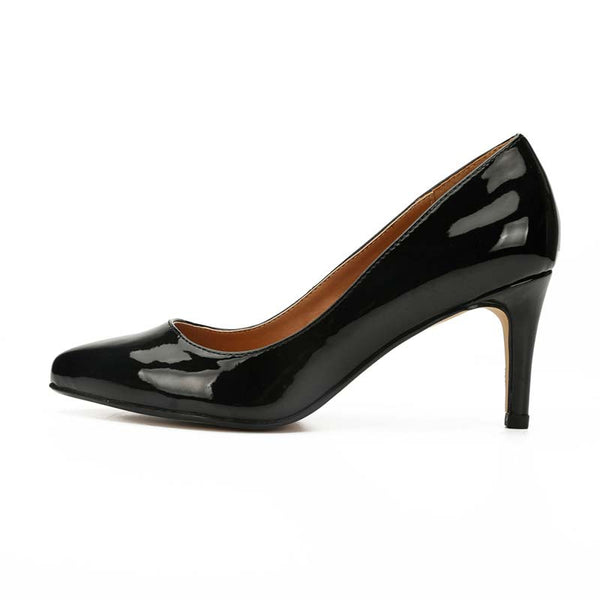 Patent-Leather High Heel Pumps