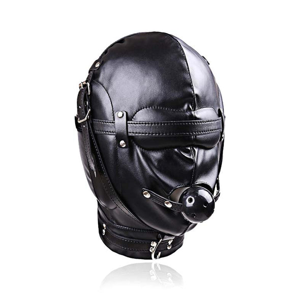 Hood with Ball Gag