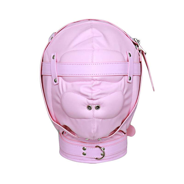 PU Leather Padded Hood