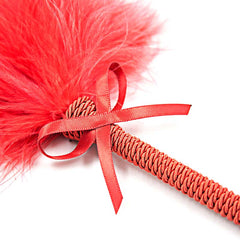 Fluffy Feather Body Tickler with Bow-Knot