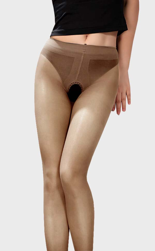 Unisex Sheer Footless Tights