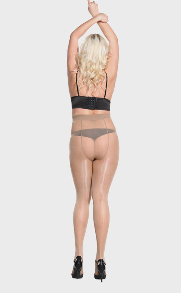 Sheer to Waist Glossy Tights