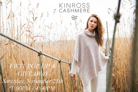 Kinross Cashmere Pop Up