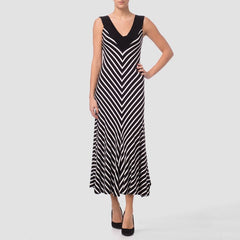 Ribkoff Striped Maxi