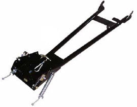 "Quadrax 65"" -  'A' Frame Plow Mount for Track Kit"