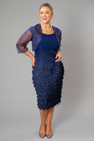 Scalloped Bolero for the Mother of the Bride / Groom