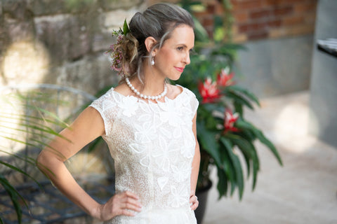Ivory Pure Silk Top for the Understated Bride from Living Silk