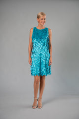 Shimmy Dress - Aquamarine