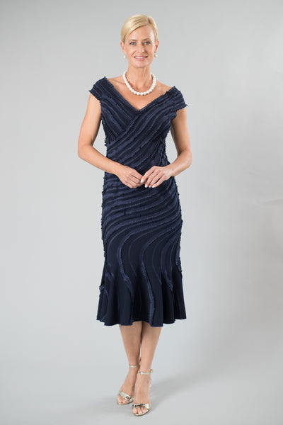 Iris Dress - Midnight Blue