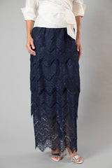 Ines Skirt - Midnight Blue