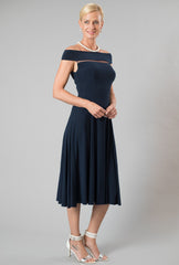 Audrey Dress - Midnight Blue
