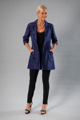 All Seasons Coat - Midnight Blue