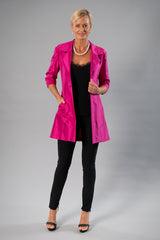 All Seasons Coat - Fuschia Pink