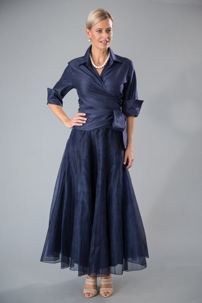 87e1506a1eb Living Silk - Boho Look Midnight Blue - Mother of Bride Dresses ...
