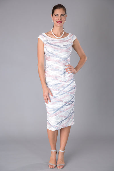Ribbon Dress - Ivory