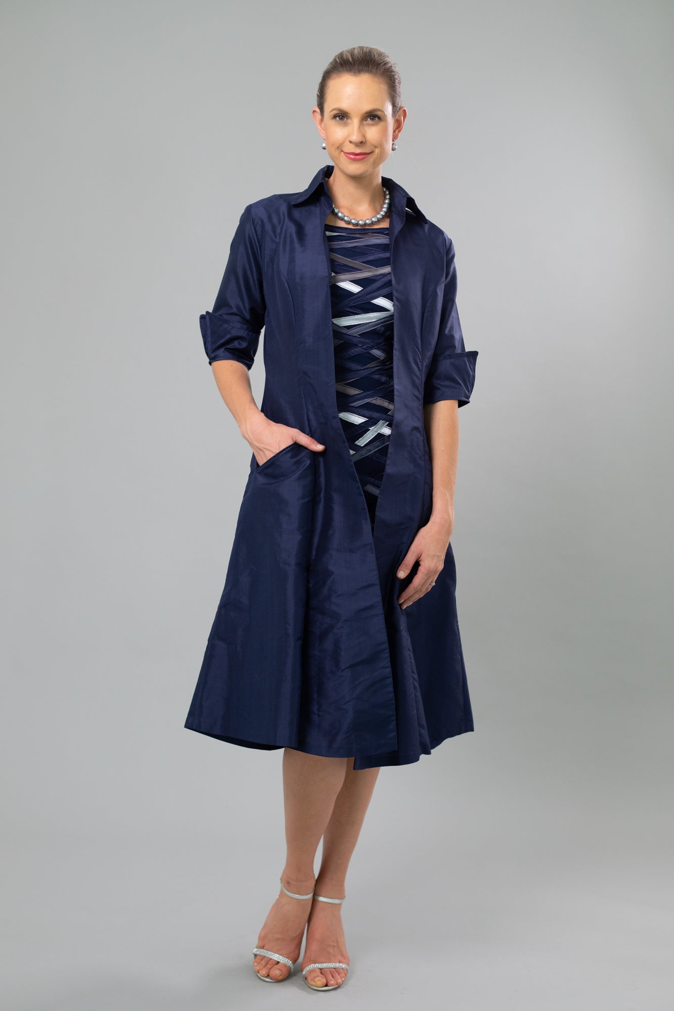 Summer Coat - Midnight Blue
