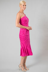 Ava Dress - Fuschia