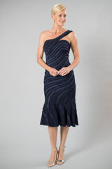 Ava Dress - Midnight Blue