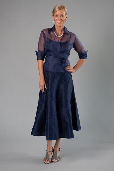 Cocktail Skirt - Midnight Blue